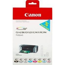 Canon CLI-42 Multi Pack - originální (6384B010) černá/šedá/červená/modrá/žlutá