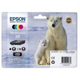 Epson T2616, 6,2ml (C13T26164010) černá/červená/modrá/žlutá