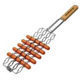 Grilovací košík Campingaz na párky (materiál chrom, na 8 párků)