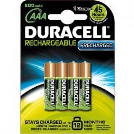 Duracell StayCharged AAA, HR03, 800mAh, Ni-MH, blistr 4ks