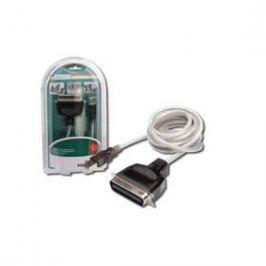 Digitus USB / LPT (Tiskárna), 1,8m (DC USB-PM1) bílý