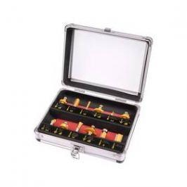 EXTOL Craft 44037, do dřeva s SK plátky, 12 ks v kovovém kufru ocel