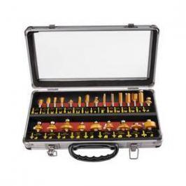 EXTOL PREMIUM 44039, do dřeva s SK plátky, 24 ks v kovovém kufru ocel