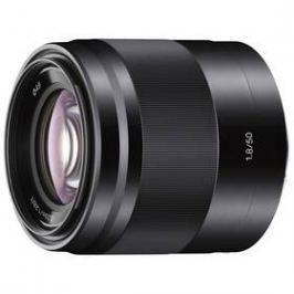 Sony E 50 mm F/1.8 OSS (SEL50F18B) černý