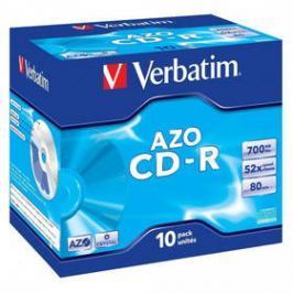 Verbatim Crystal CD-R DLP 700MB/80min, 52x, jewel box, 10ks (43327)