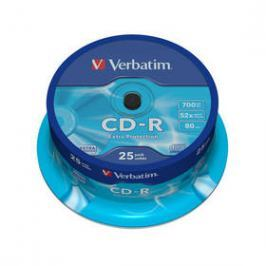 Verbatim Extra Protection CD-R DL 700MB/80min, 52x, 25-cake (43432)