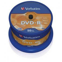Verbatim DVD-R 4,7GB, 16x, 50cake (43548)