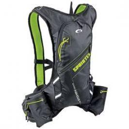 Spokey SPRINTER cyklistický a běžecký 5l, voděodolný černý/zelený