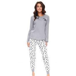 Dámské pyžamo Kitties  černá