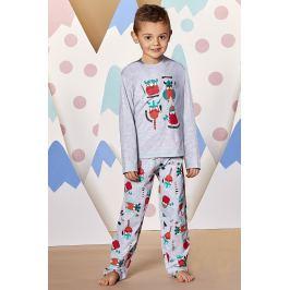 Chlapecké pyžamo Viking  šedá