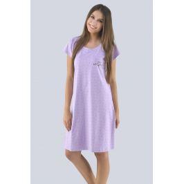 Dámská noční košilka Lenka  fialová