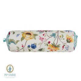 Polštář váleček Pip Studio Floral Fantasy ecru 22x70 cm barevná