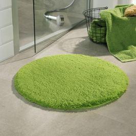 Koupelnová předložka Malmo zelená průměr 71 cm zelená