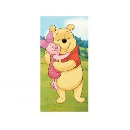 Dětská osuška Medvídek Pú a Prasátko Osuška bavlna