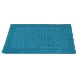 Koupelnová předložka Mozaika petrolejová 50x80 cm bavlna