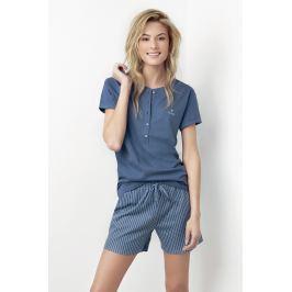 Dámské pyžamo Joslin modré  modrá