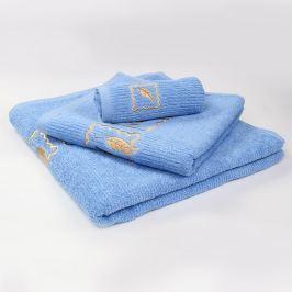Ručník Grácie - modrý 30x50 cm Ručník malý