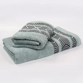 Bambusový ručník Tara - mátový 50x90 cm Ručník