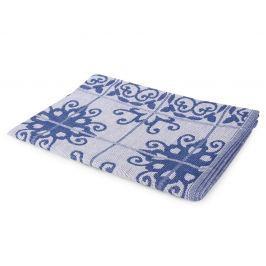 Kuchyňská utěrka Mozaika modrá 50x70 cm modrá