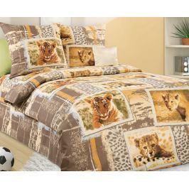 Povlečení Savana 140x200 jednolůžko - standard bavlna