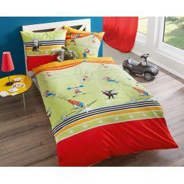 Povlečení Cirkus 140x200 jednolůžko - standard bavlna