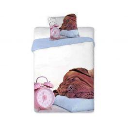Povlečení Alarm Clock 140x200 jednolůžko - standard bavlna