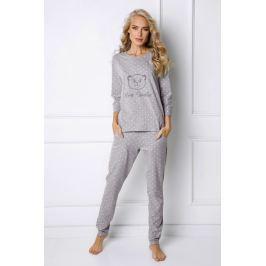 Dámské pyžamo Sweet Bear  šedá