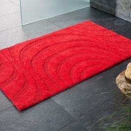 Koupelnová předložka Jaipur červená 60x100 cm červená