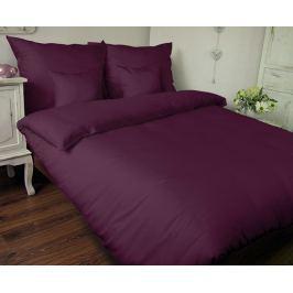 Povlečení UNI fialové 140x220 jednolůžko - prodloužené Bavlněný satén