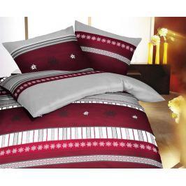 Flanelové povlečení Edelweis 140x200 jednolůžko - standard Flanel