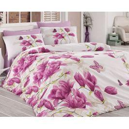 Povlečení Alize fialové 140x200 jednolůžko - standard Bavlna