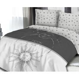 Povlečení Moon & Sun 140x200 jednolůžko - standard bavlna