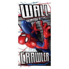 Dětská osuška Spider Man Wall Crawler 70x140 cm barevná