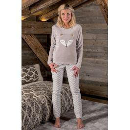 Dámské pyžamo Renard  béžová