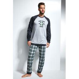 Pánské pyžamo CORNETTE New York  barevná