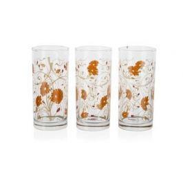 PASABAHCE Sada sklenic ISTANBUL 290 ml, 3 ks, oranžová serenáda