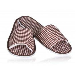 Pantofle dámské CHECKED 28 cm, mix barev