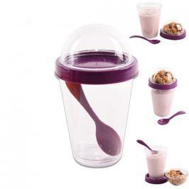 Orion pohár na svačinky s víčkem