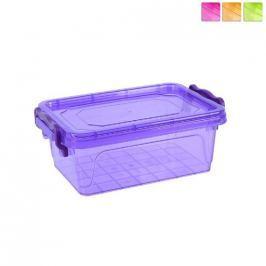 Box plastový BON hranatý 0,6 L