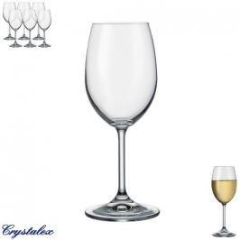 Crystalex sklenice na víno LARA 0,25 L 6 ks