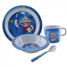 Orion Dětská jídelní sada Večerníček 4ks