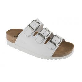 Scholl Zdravotní obuv RIO WEDGE AD Lea-W - bílá 38