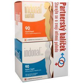 Synergia Indonal man 90 kapslí + Indonal woman 90 kapslí