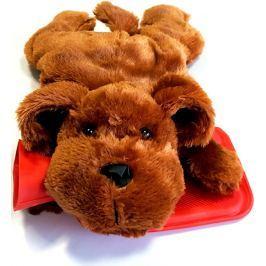 Albert Termofor dětský Pes tmavě hnědý