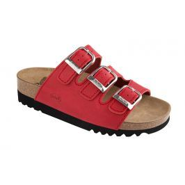 Scholl Zdravotní obuv RIO WEDGE AD - červená 38