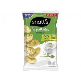 Snatt´s Popped chips zakysaná smetana a cibulka 75g
