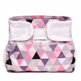 T-tomi Abdukční kalhotky (5 - 9 kg) Růžové trojúhelníky