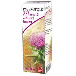 Purus Meda PM Propolis Maral extra 3 % kapky 50 ml