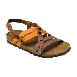 SANTÉ Zdravotní obuv dámská IB/7200 hnědo-oranžová vel. 35