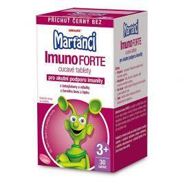 Marťánci Marťánci ImunoForte příchuť černý bez 30 cucavých tbl.